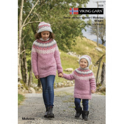 GRATIS Viking katalog 2026 - Nova genser til børn i Mohrino, UDEN OPSKRIFTER