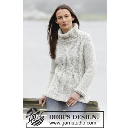Frostbite by DROPS Design S-XXXL DROPS CLOUD