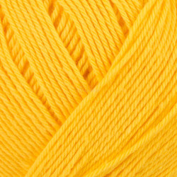 Viking Heklegarn 12/4. Farve 845 Gul