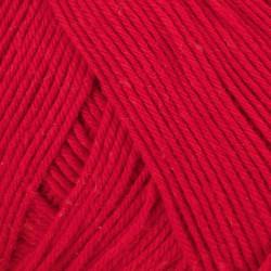 Viking Heklegarn 12/4. Farve 850 Rød