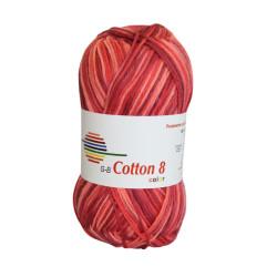 Cotton 8 color. Farve 003, Røde toner