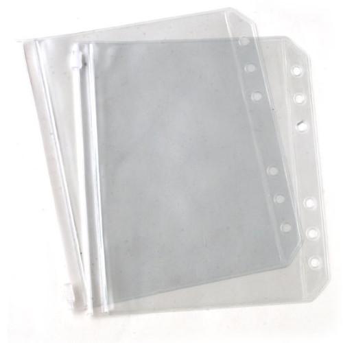 Knitpro gennemsigtige vinyllommer, 2-pak