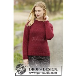 Winter Wine by DROPS Design S-XXXL DROPS AIR