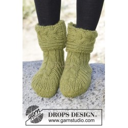 Forest Steps by DROPS Design 35-42 DROPS ESKIMO