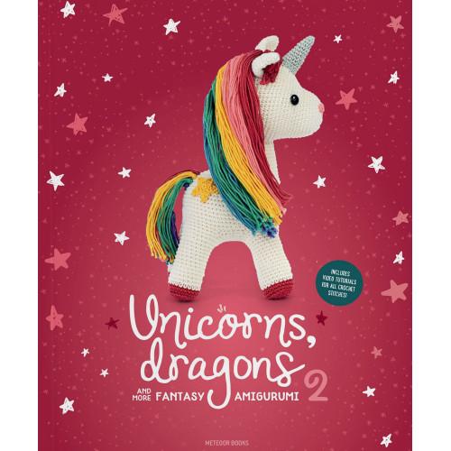 Unicorns, dragons and more fantasy 2, 14 søde figurer, engelsk