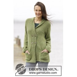 Image of   Autumn forest jacket by drops design s-xxxl drops air garn