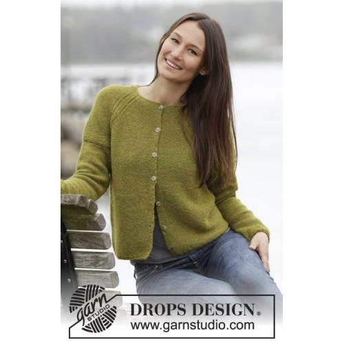 Sweet Olivia Cardigan by DROPS Design S-XXXL DROPS ALPACA