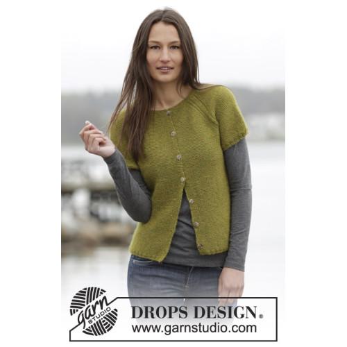 Sweet Olivia Vest by DROPS Design S-XXXL DROPS ALPACA