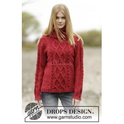 Winter Flame by DROPS Design S-XXXL DROPS ALASKA