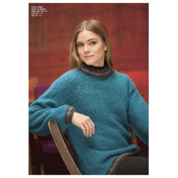 """Hegg"" Genser - Viking Design 1810-6 Kit - XS-XXL - Viking Alpaca Maya"