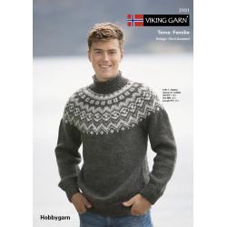 Viking katalog 2101 - Familie, Viking Hobbygarn