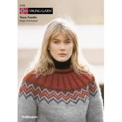 GRATIS Viking katalog 2102 - Familie, Viking Hobbygarn, UDEN OPSKRIFTER