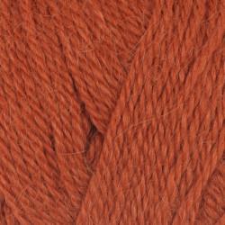 Viking Alpaca Fine. Farve 654, Brændt orange