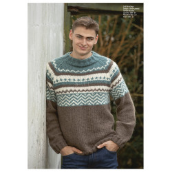 """Only"" Genser - Viking Design 2107-8 Kit - XXS-XXL - Viking Alpaca Bris"
