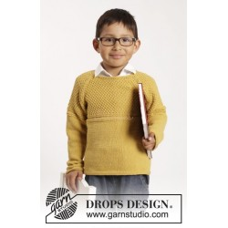 Clever Clark by DROPS Design 12 mdr - 10 år DROPS COTTON MERINO