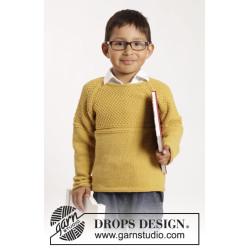 Clever Clark by DROPS Design 12 mdr - 10 år DROPS COTTON MERINO