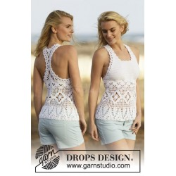 Aphrodite by DROPS Design S-XXXL DROPS COTTON LIGHT