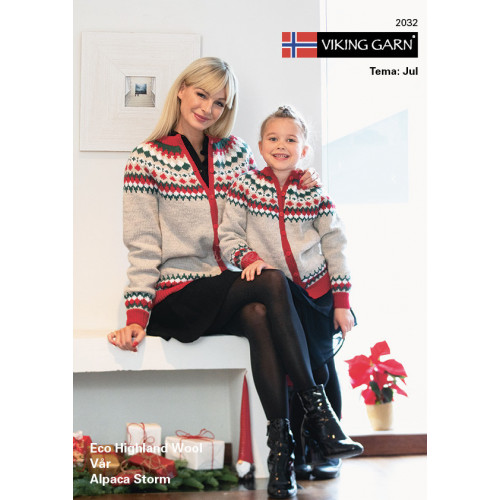 Viking katalog 2032 - Jul, dame og børn, Viking Alpaca Storm, Vår og Eco Highland Uld