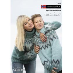 GRATIS Viking katalog 2035 - Dame og børn, Viking Alpaca Bris UDEN OPSKRIFTER