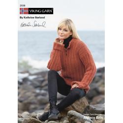 GRATIS Viking katalog 2036 - Dame og børn, Viking Alpaca Bris UDEN OPSKRIFTER