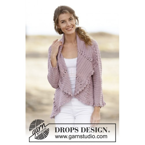 Roséalie by DROPS Design S-XXXL DROPS COTTON VISCOSE