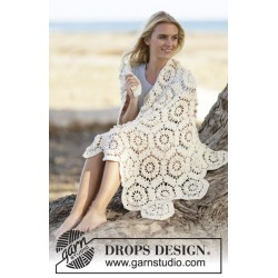 Sunshine by drops design lille-stor drops cotton merino garn drops