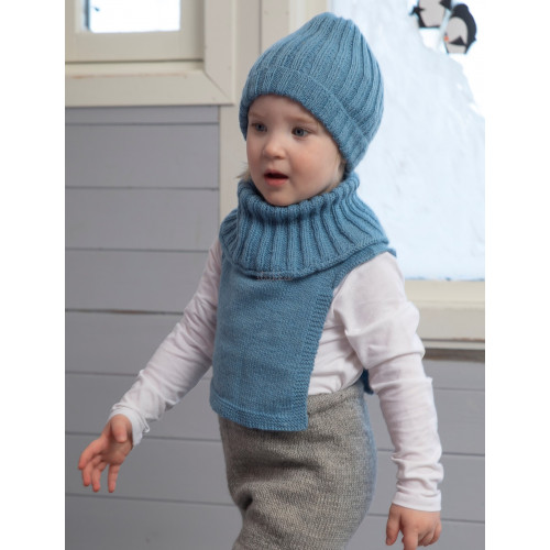 """Ruffen"" Hue og hals - Viking Design 2110-17 Kit - 2-12 År - Viking Frøya"
