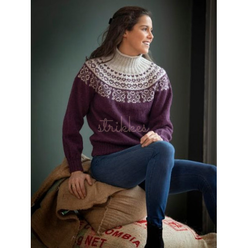 """Julianne"" Genser - Viking Design 2112-6 Kit - XXS-XXXL - Viking Alpaca Fine"