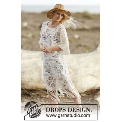 Morocco Dream by DROPS Design S-XXXL DROPS SAFRAN