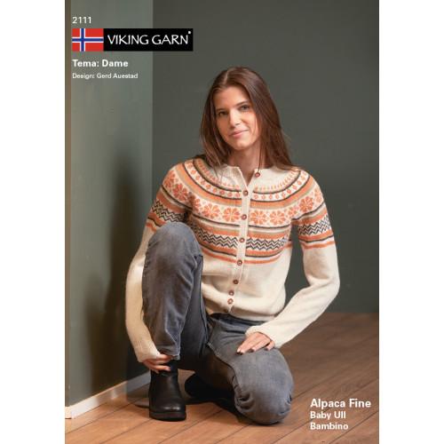 GRATIS Viking katalog 2111 - Damer, Viking Alpaca Fine UDEN OPSKRIFTER