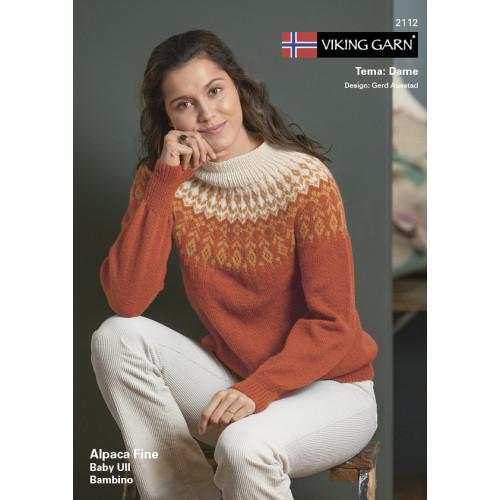 Viking katalog 2112 - Damer, Viking Alpaca Fine