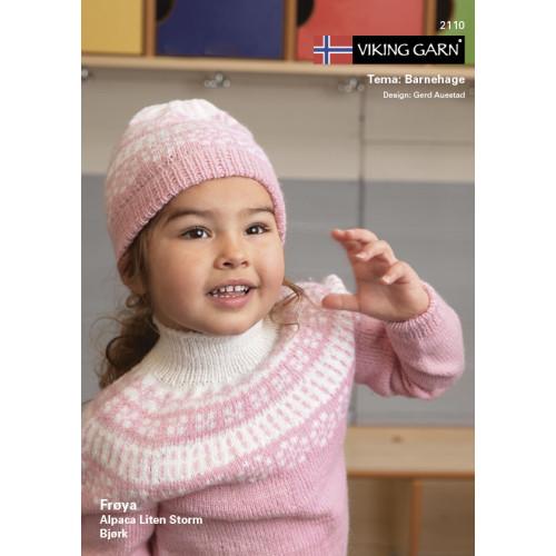 Viking katalog 2110 - Børn, Viking frøya og lille storm