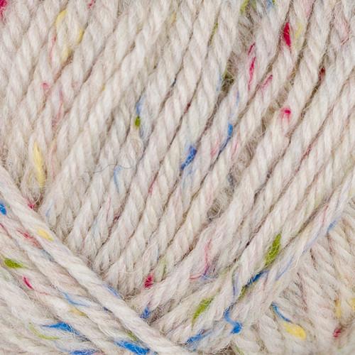 Viking Eco Highland Wool. Farve 270 Hvid tweed