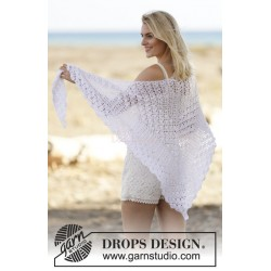 Seaside Romance by DROPS Design One-size DROPS COTTON VISCOSE