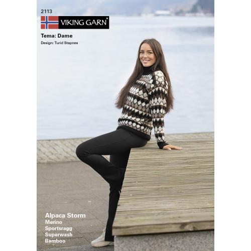 Viking katalog 2113 - Damer, Viking Alpaca Storm