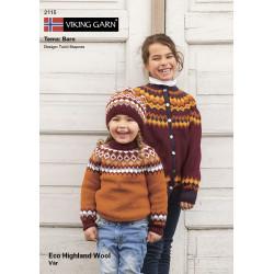 GRATIS Viking katalog 2115 - Børn, Viking Eco Highland Uld UDEN OPSKRIFTER