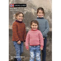 GRATIS Viking katalog 2116 - Børn, Viking Eco Highland Uld UDEN OPSKRIFTER