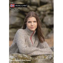GRATIS Viking katalog 2117 - Damer og Herrer, Viking Eco Highland Uld Tweed UDEN OPSKRIFTER
