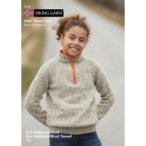 Viking katalog 2118 - Børn, Viking Eco Highland Uld og Eco Highland Uld Tweed
