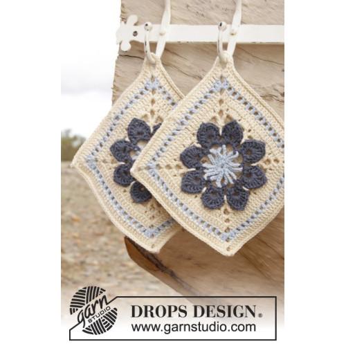 Kitchen Flowers by DROPS Design One-size DROPS PARIS