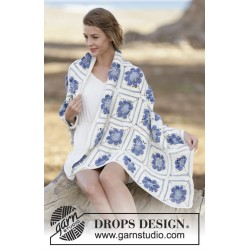 Amanecer by DROPS Design One-size DROPS COTTON MERINO
