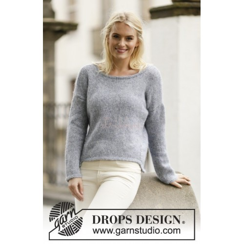 Cozy Afternoon by DROPS Design S-XXXL DROPS AIR