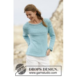 Image of   Athena jumper by drops design s-xxxl drops paris garn bluse