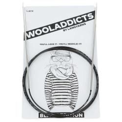 AddiLace rundpind, BLACK EDITION, 3mm, 50 cm