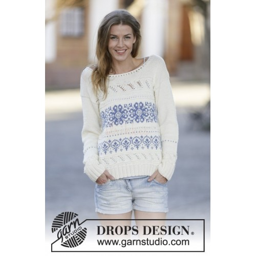Delphos by DROPS Design XS-XXXL DROPS COTTON MERINO