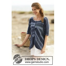 Image of   Deep sea by drops design s-xxxl drops delight garn cardigan