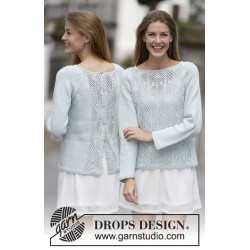 Blue Spring by DROPS Design S-XXXL DROPS COTTON LIGHT