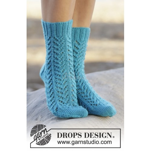 Sea Steps by DROPS Design 35-43 DROPS FABEL