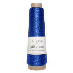 Glitter deluxe, kobolt blå