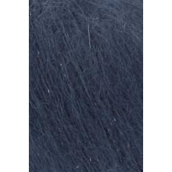 Mohair Luxe Lamé, farve 10, sølv/mørkeblå